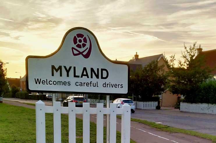 Myland Traffic Gate